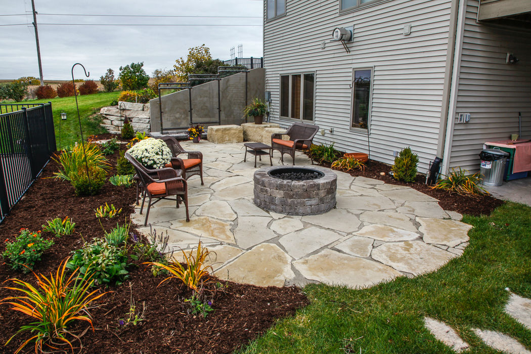 Outdoor Patios Landscaping Design Forever Green Iowa