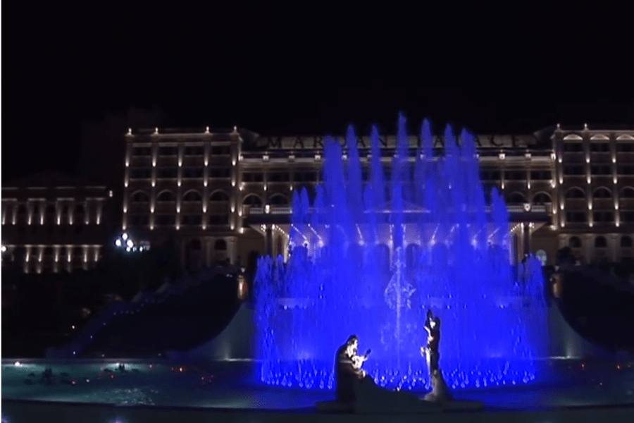 Kish dancing fountain