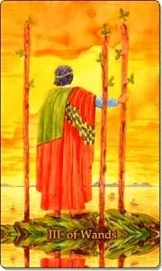 Three of Wands
