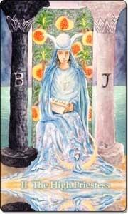 The High Priestess - Reversed