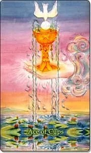Ace of Cups - Reverse