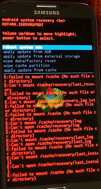 Samsung Galaxy Note Ii Will Not Reboot Android Forums At