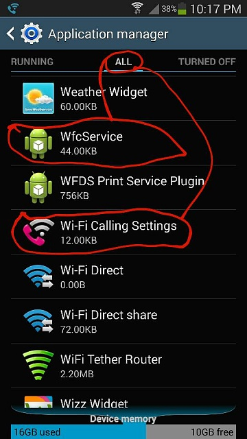 T Mobile Note 3 Disable Wifi Calling Permanently