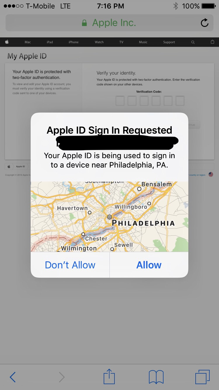 Apple ID Sign In Requested Pop Up   MacRumors Forums Should I change my password