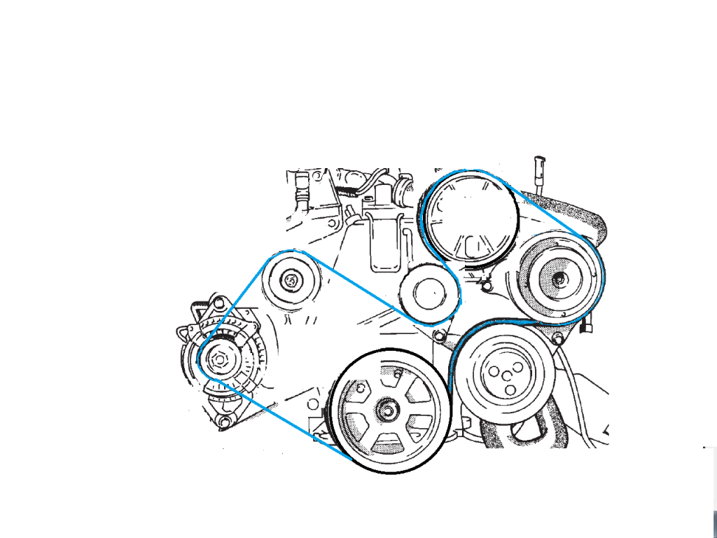 97 Dodge Neon Belt Diagram