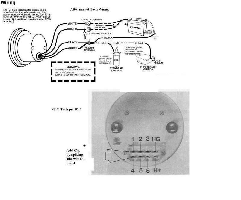wiring diagram for vdo tachometer enchanting vdo tachometer wiring rh color castles com VDO Oil Temp Wiring Diagrams VDO Tach Wiring Diagram Small