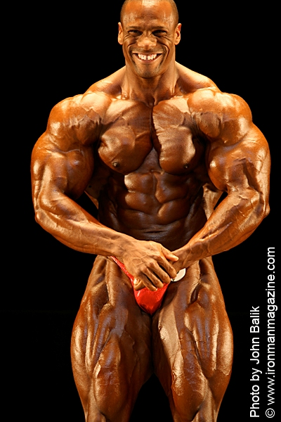 2006 Npc National Heavyweight Winner Lionel Brown