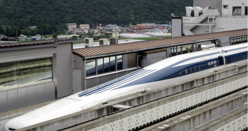 Fastest Commercial Train in the World: Maglev Levitating ...
