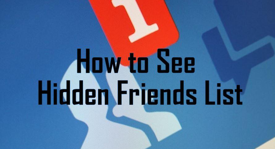 Recover My Facebook Friends List