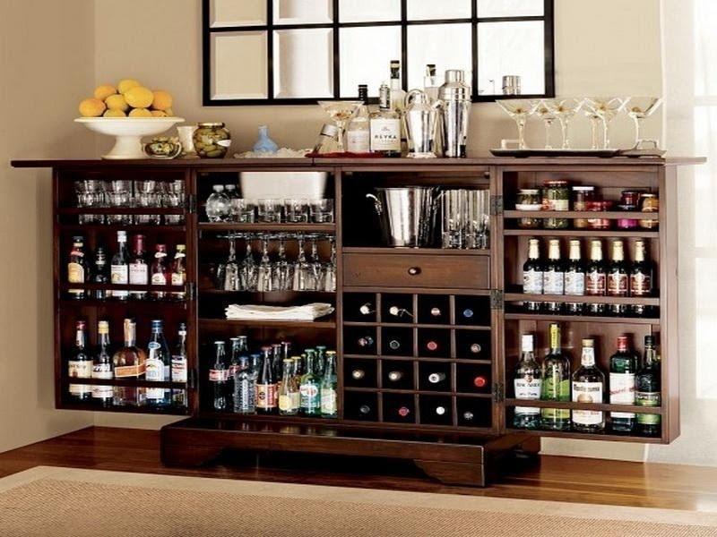Fold Out Bar Cabinet Foter
