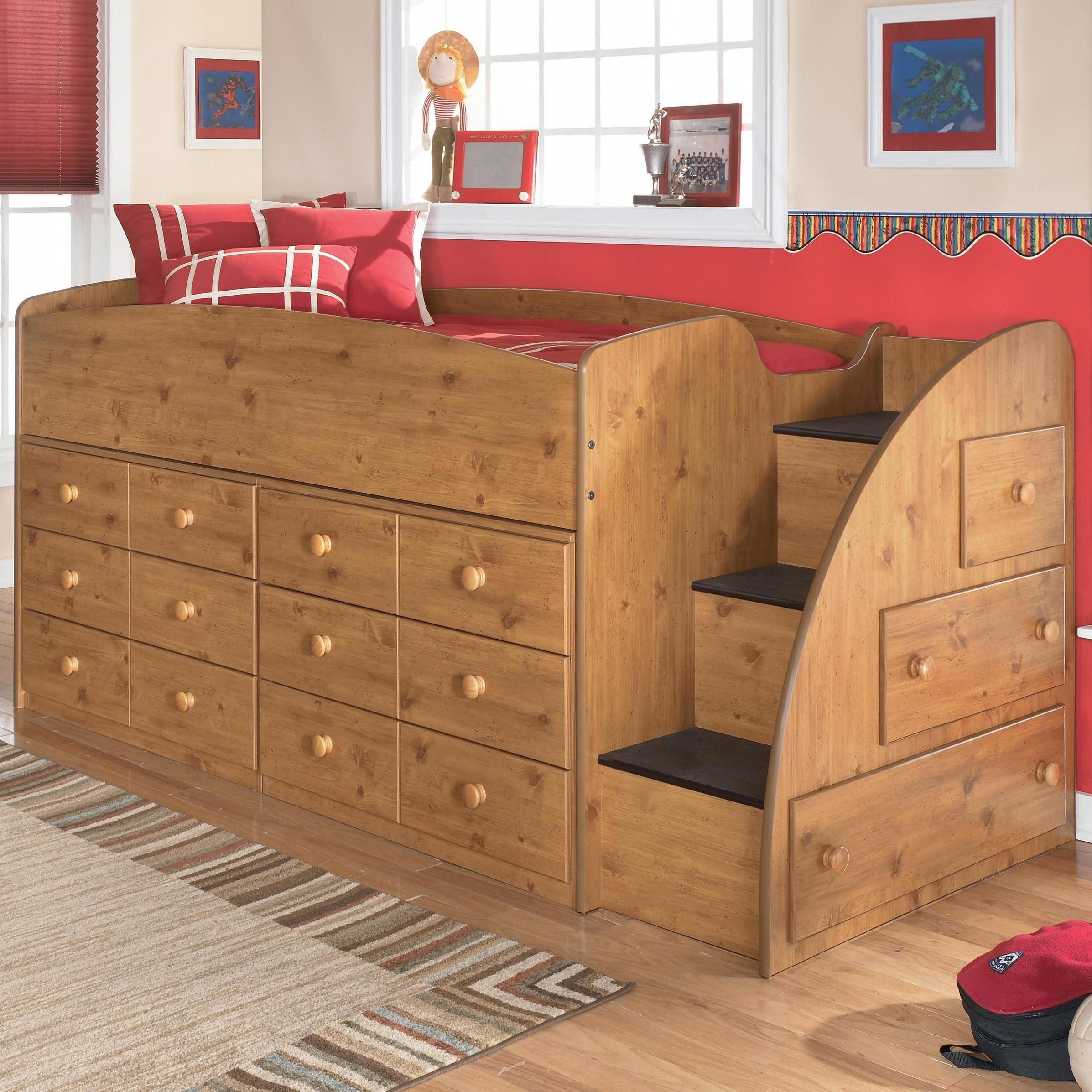 Twin Loft Bed With Storage Underneath Ideas On Foter