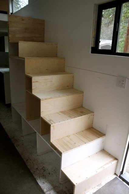 Loft With Stairs For 2020 Ideas On Foter | Staircases For Small Cottages | Open | Small Footprint | Skinny | Corner | Wooden