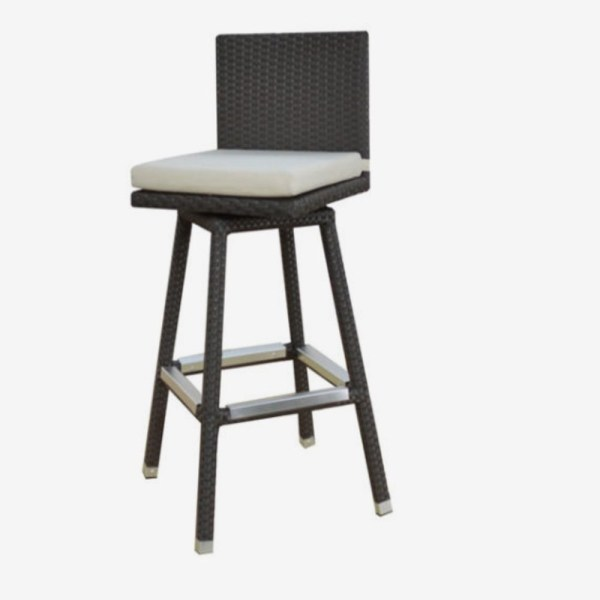 Outdoor Swivel Bar Stools   Foter Swivel bar stool furniture outdoor patio design project 1