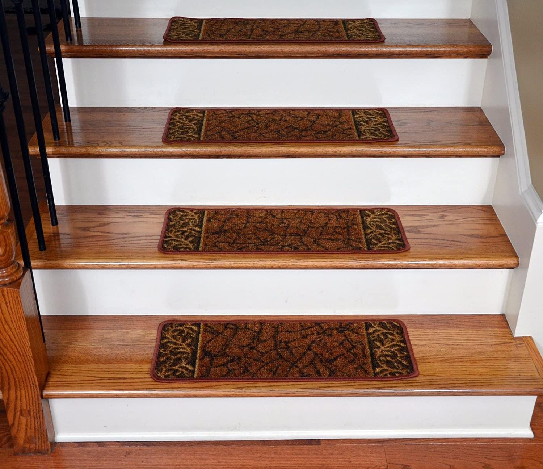 Stair Treads Carpet Non Slip Ideas On Foter   Stair Treads For Carpeted Steps   Carpet Protectors   Skid Resistant   Bullnose Carpet   Anti Slip Stair   Wood