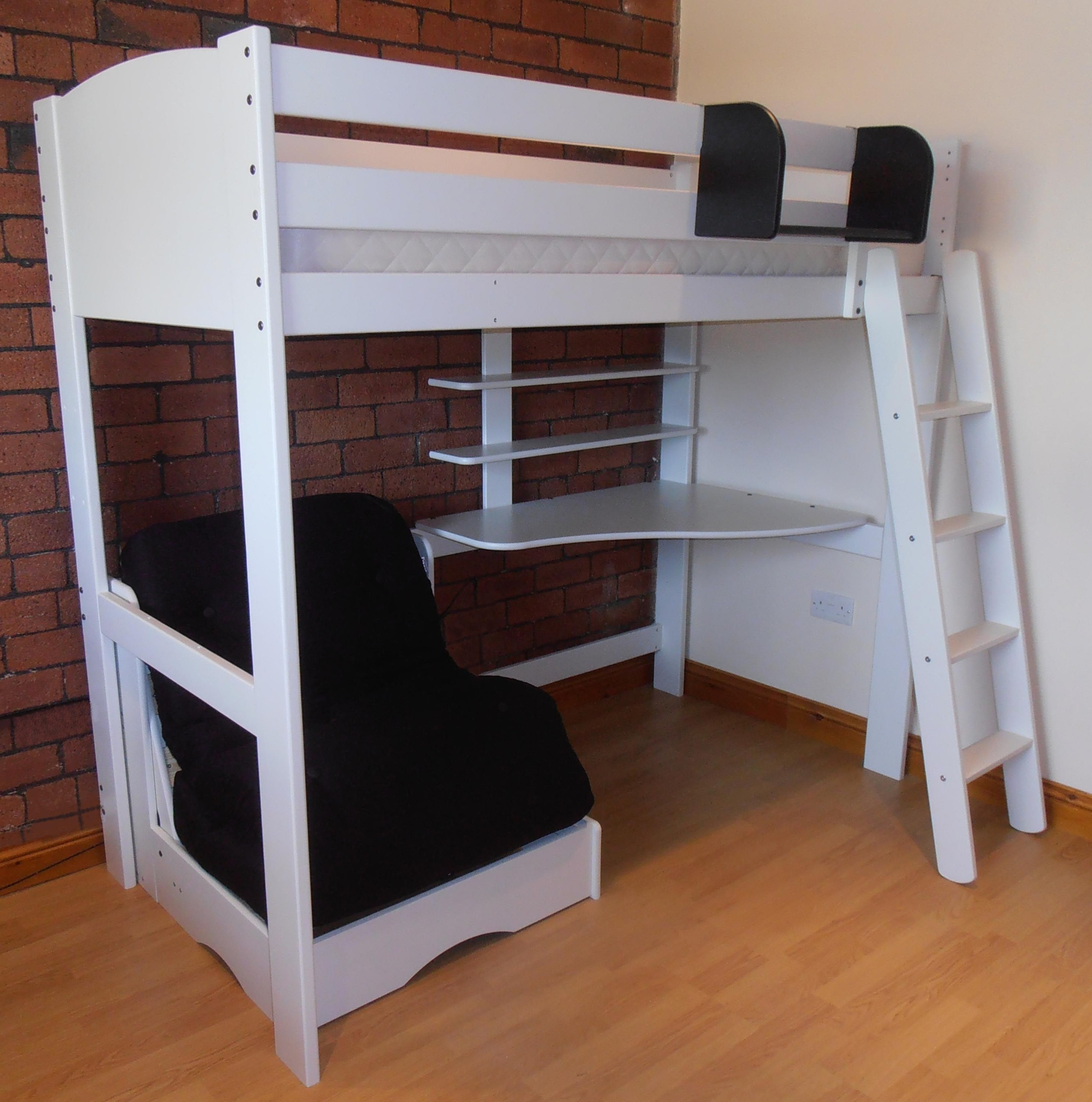Loft Beds With Desk And Futon Ideas On Foter