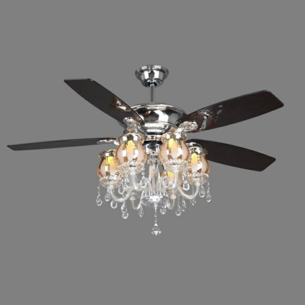 crystal chandelier with fan # 20