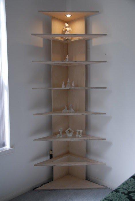 Free Standing Corner Shelves Foter