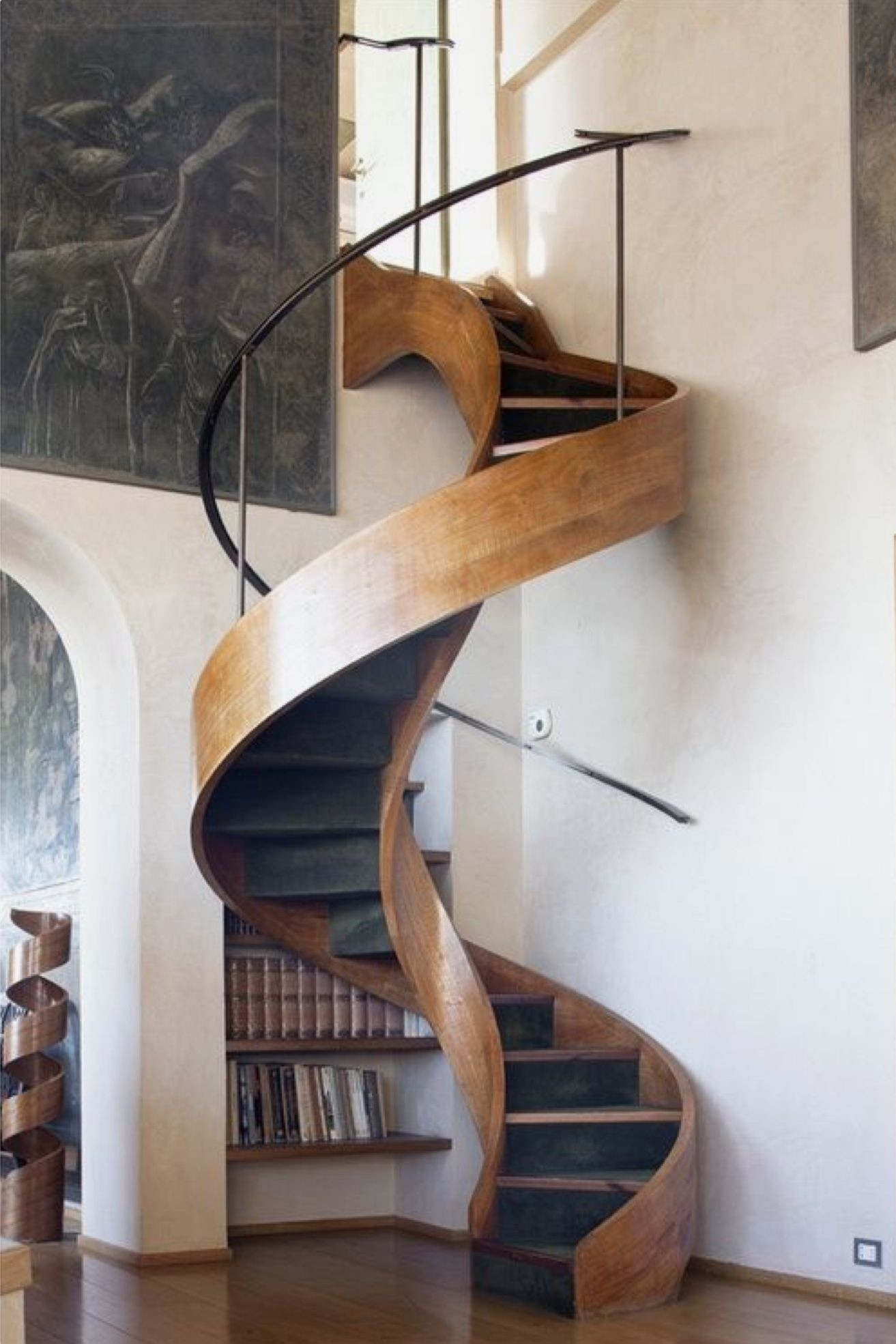 Loft With Stairs For 2020 Ideas On Foter | Space Saving Stairs Design | Storage | Small Space | Cute | Low Cost | 2Nd Floor Small Terrace Concrete