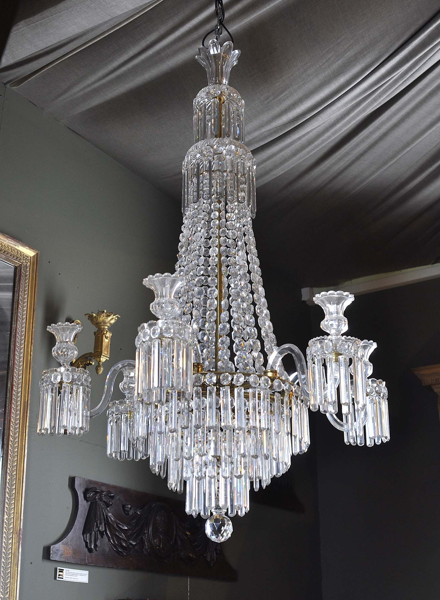 Waterfall Crystal Chandelier Foter