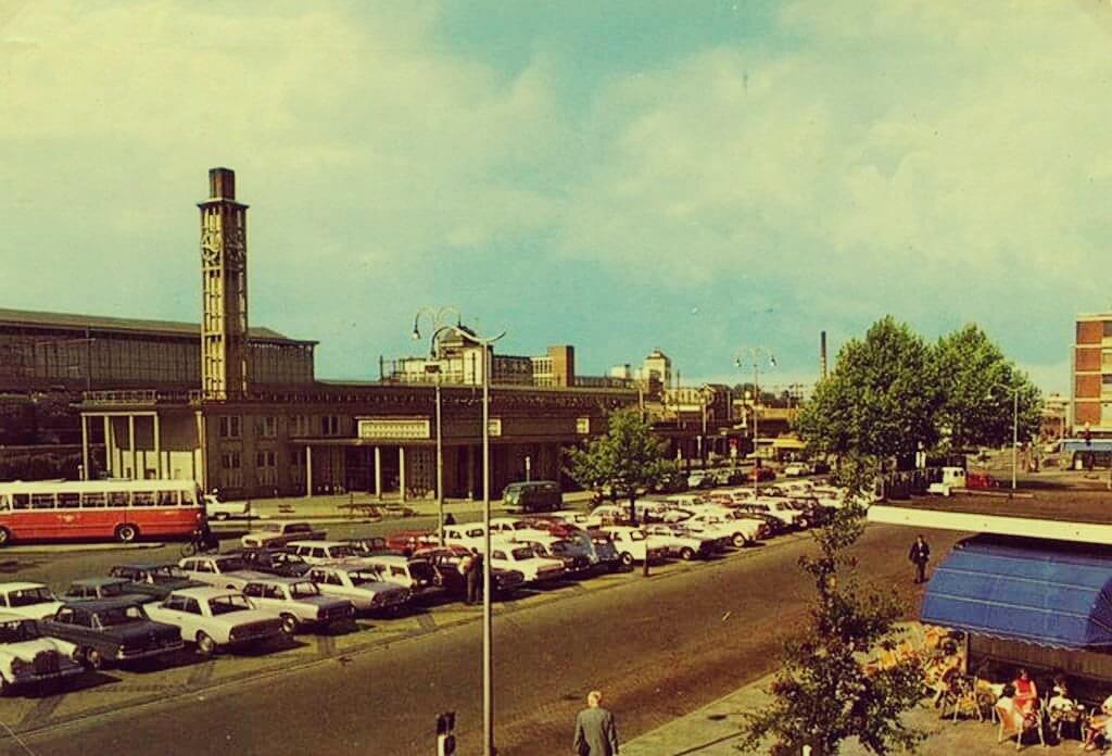 Stationsplein Hengelo Jaartal 1960 Tot 1970 Foto S Serc