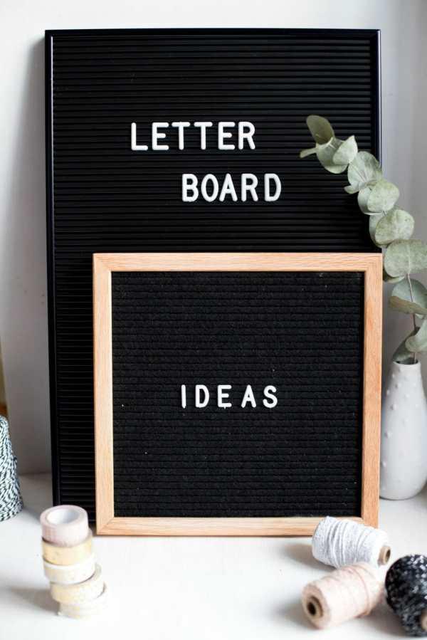 letter board sprüche # 5