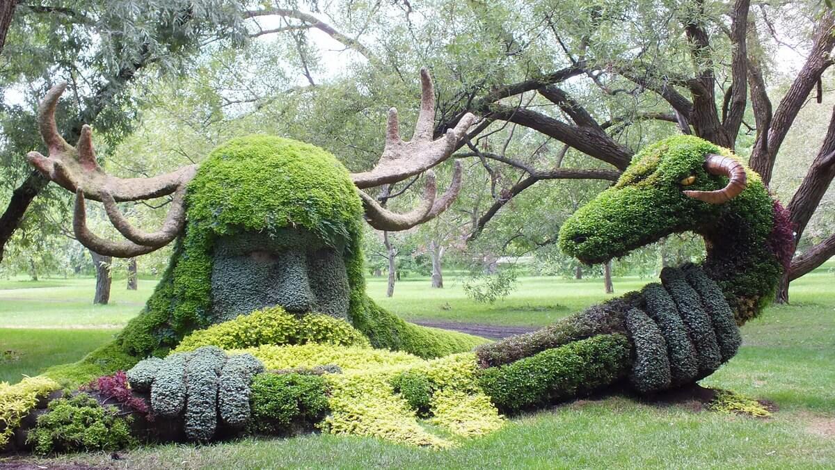 Unusual Garden Ornaments