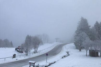 three begin Nordic ski slopes