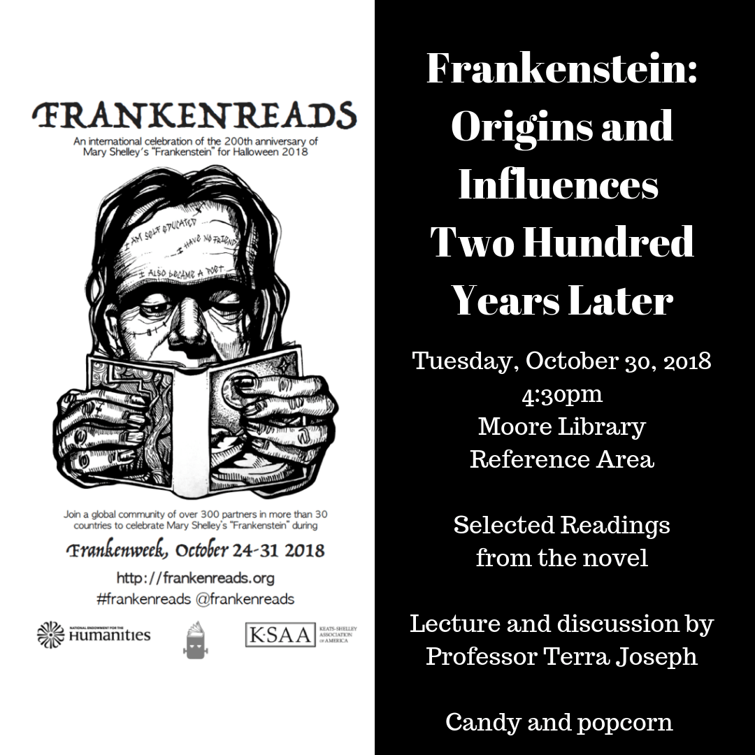 Frankenstein: Origins and Influences Two Hundred Years ...