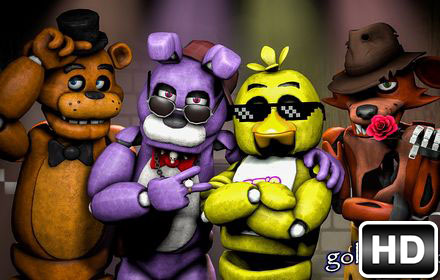 FNaF   Five Nights at Freddy s HD Wallpapers New Tab   Free Addons