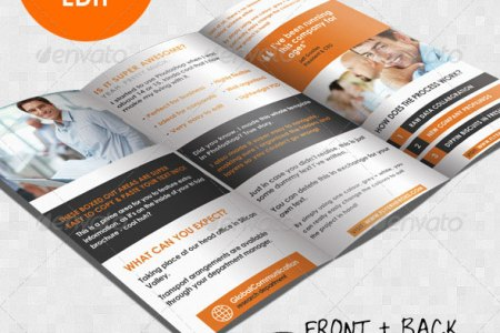 33 Creative Tri Fold Brochure Templates  PSD   inDesign      Design     A4 trifold brochure template
