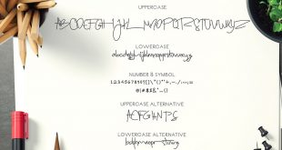sugar cande 310x165 - Sugar Candy Signature Font Free Download