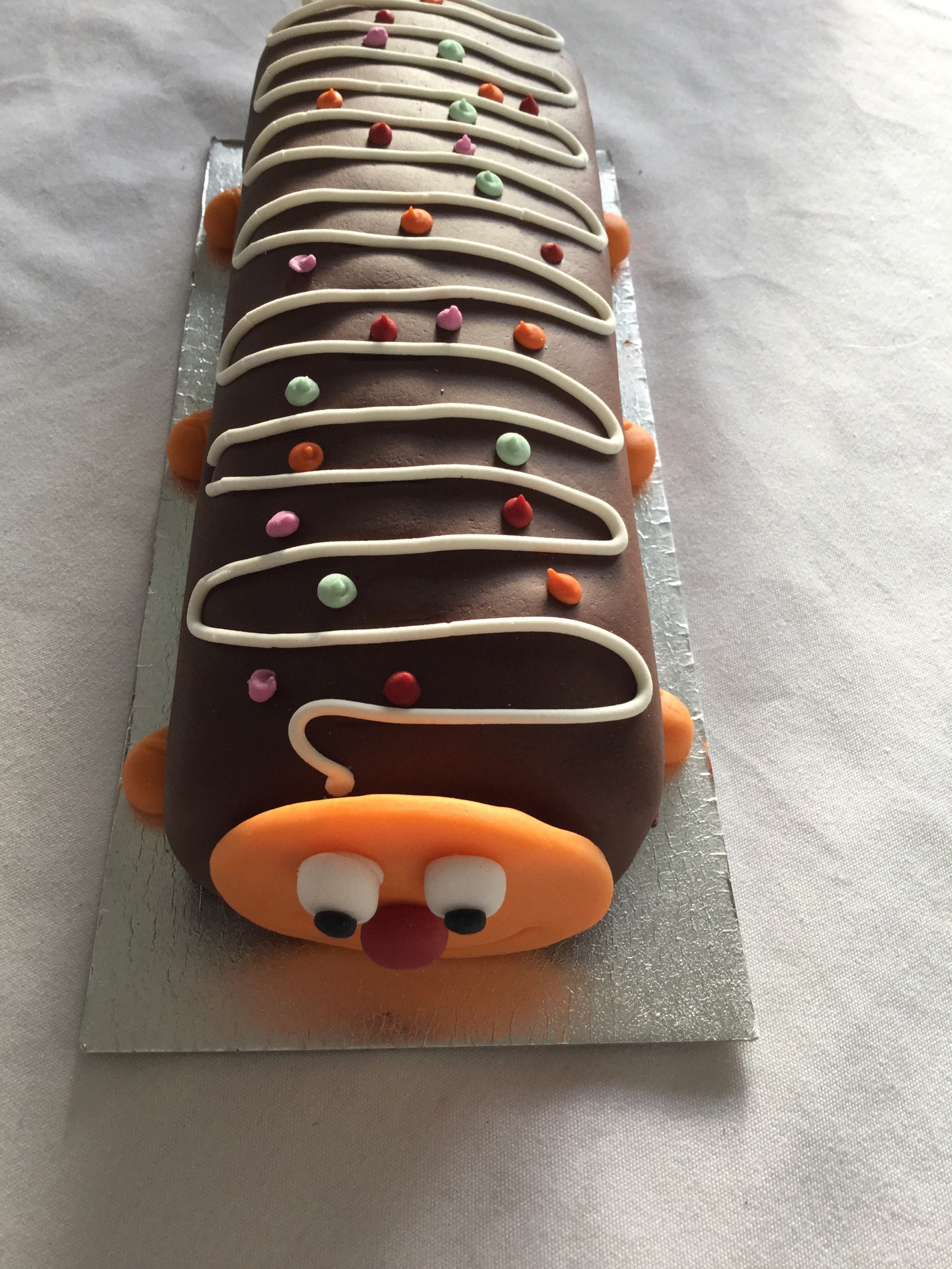 Review Carl The Caterpillar Cake From Tesco Free From