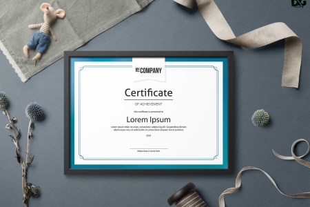 Free Download PSD Appreciation Certificate Templates   PSD Design     Free Download PSD Appreciation Certificate Templates