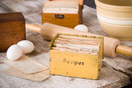 Vintage Recipe Boxes Freesimplerecipes