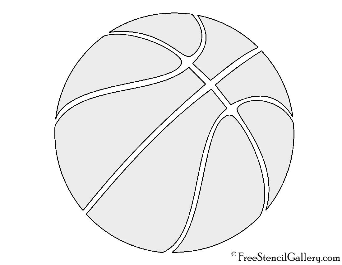 Basketball Pumpkin Template