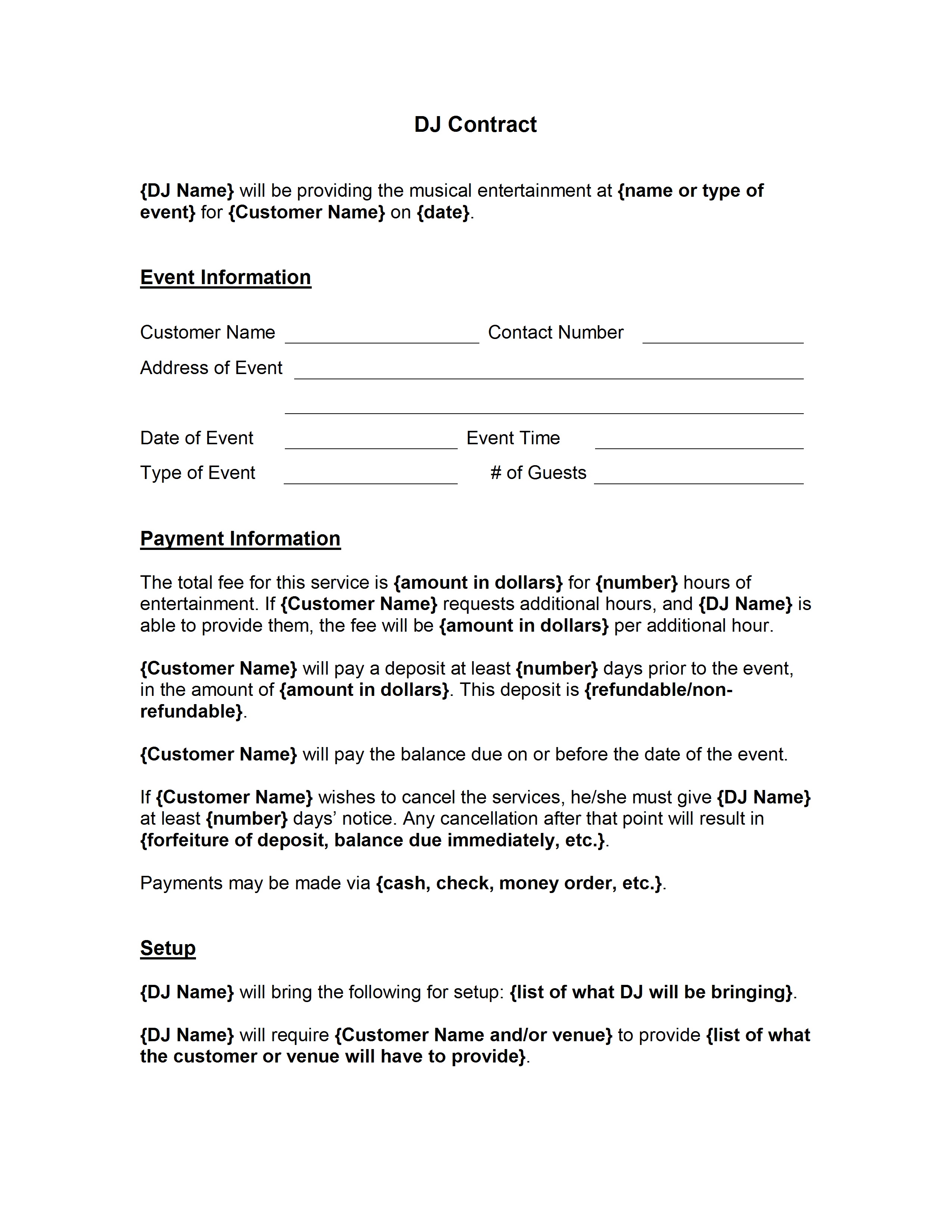 letter to cancel service contract