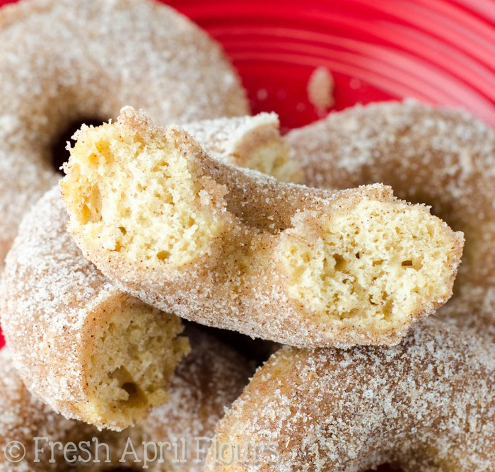 Baked Chai Donuts: Easy spiced donuts get a generous dunk in a spiced sugar coating for some extra pep in each bite.
