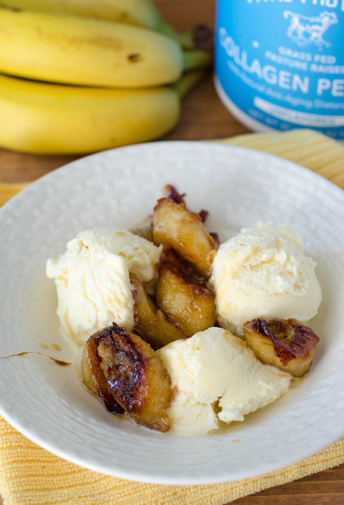 Easy Bananas Foster: A quick and easy recipe for Bananas Foster using Amaretto liqueur.
