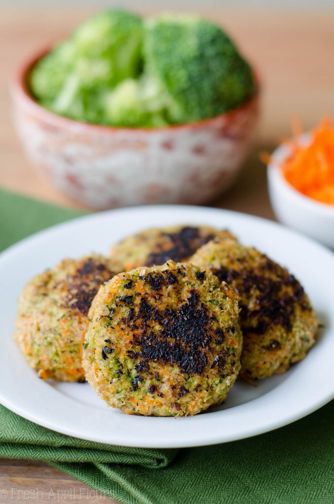 Veggie Nuggets: Gluten-free vegetable patties perfect for little hands and adults alike.