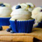 Blueberry Lemon Cupcakes with Lemon Buttercream