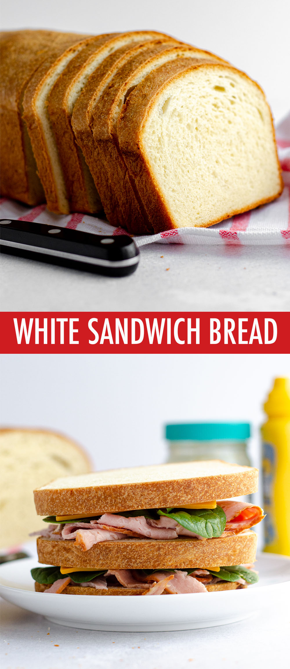 Fluffy, sturdy sandwich bread made right in your own kitchen.