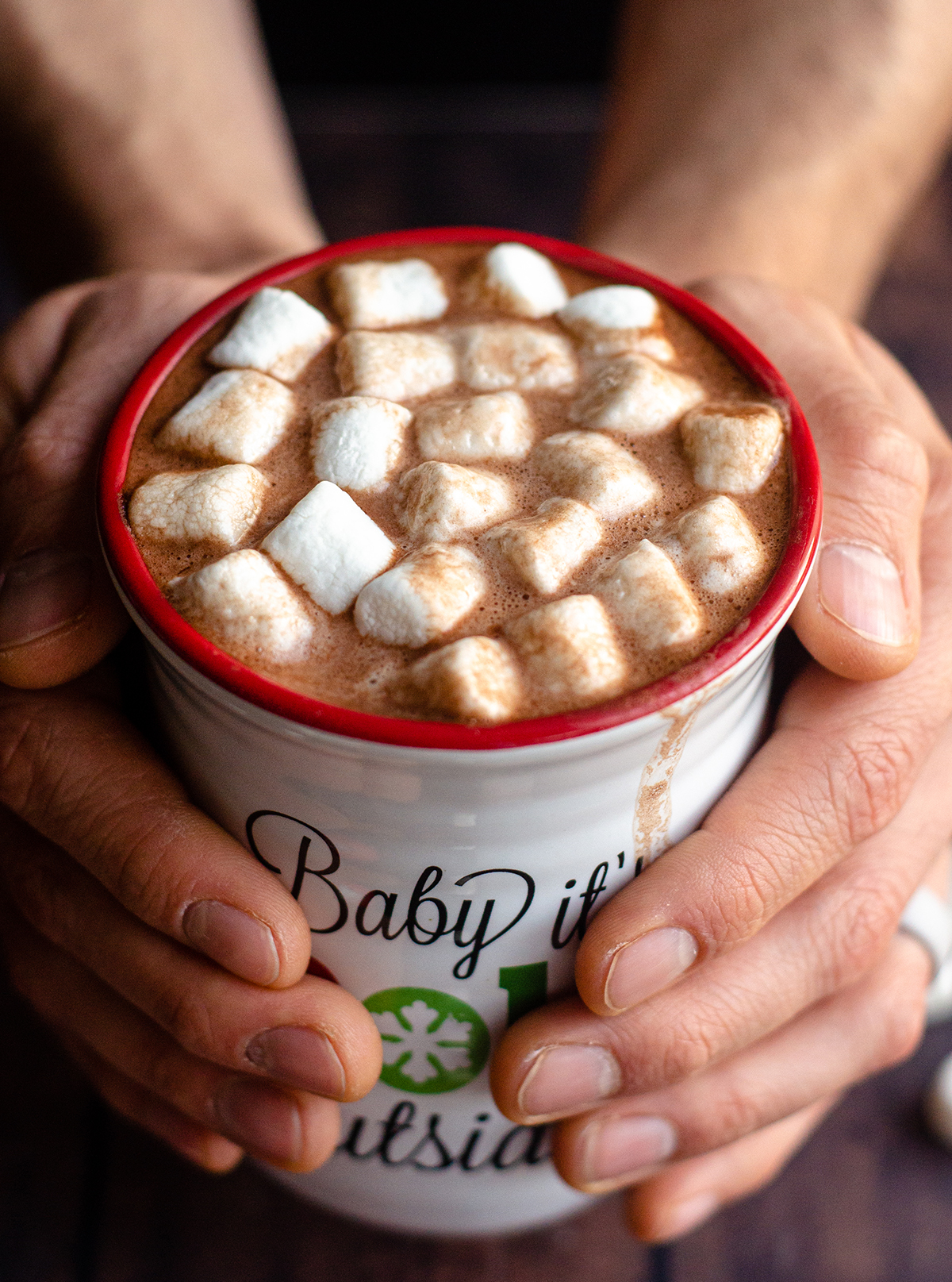 Ditch the store-bought and make your own hot cocoa mix to keep in your pantry. It's also perfect for gifting as a homemade holiday gift.
