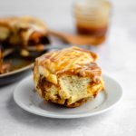 Caramel Rolls with Caramel Cream Cheese Frosting