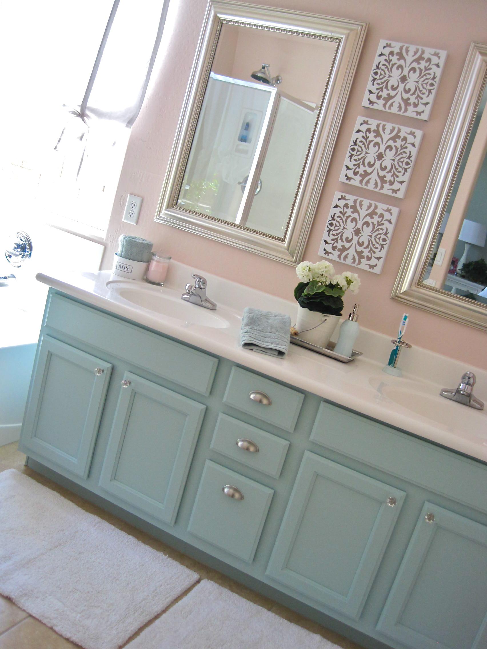 Master Bath Mini Makeover Rebecca Propes Design Amp Diy
