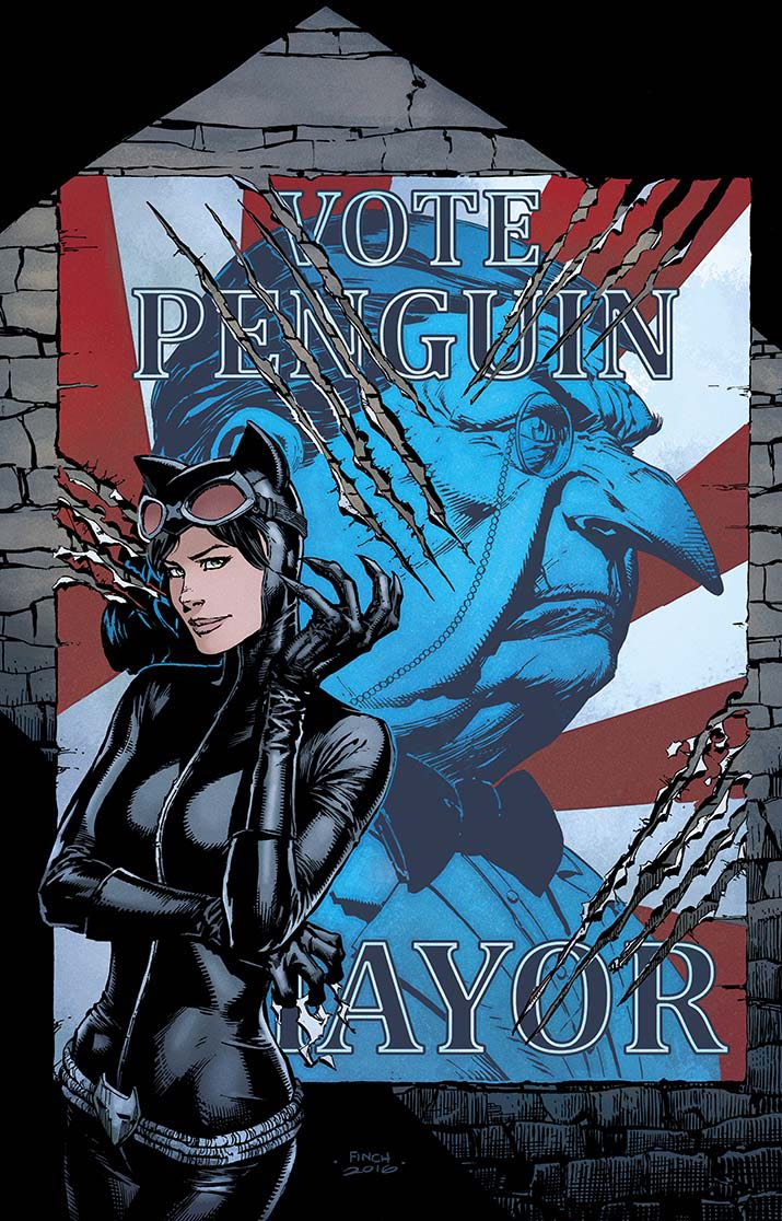 Catwoman: Election Night #1 (Variant Cover) | Fresh Comics