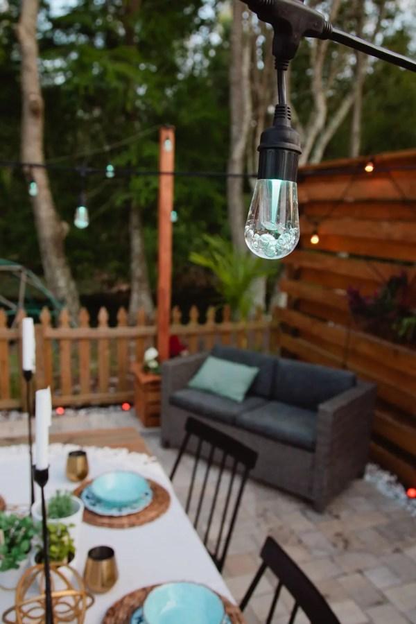 outdoor pendant string lights # 34