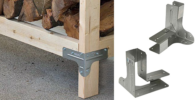 8 Quick & Easy to Build Firewood Rack Bracket Kit Reviews ...