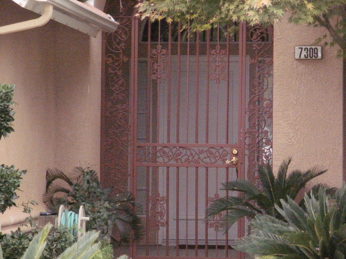 Front Door Entry Fresno Fence Connection