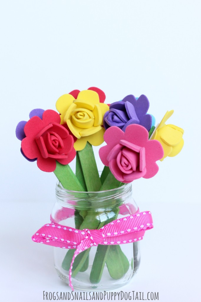 Popsicle Stick Flower Craft   FSPDT Popsicle Stick Flower Craft