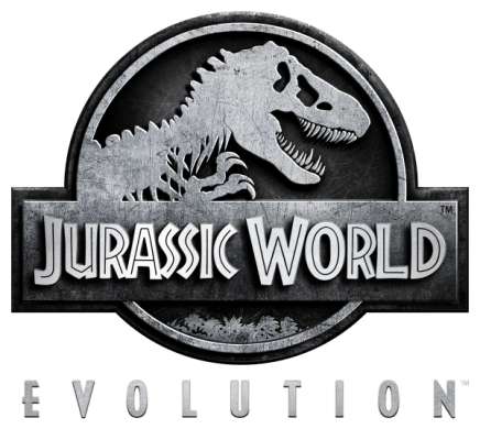 Our Games   Frontier Jurassic World Evolution  Planet Coaster Logo White